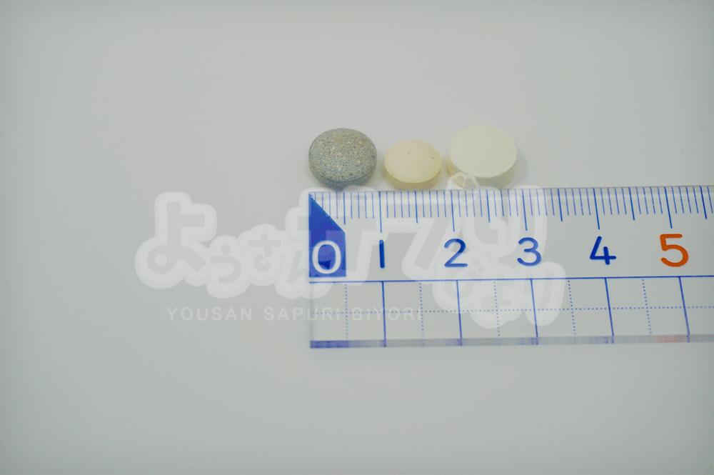 粒の大きさを測る